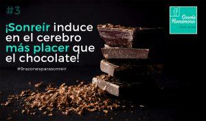 placer chocolate sonrisa alicante