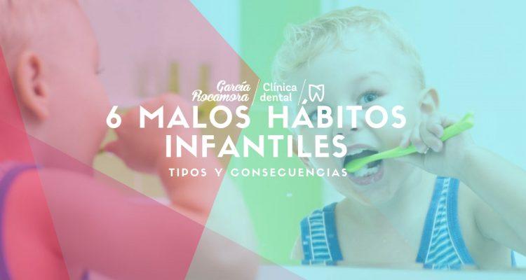 6 malos hábitos infantiles tipos y consecuencias